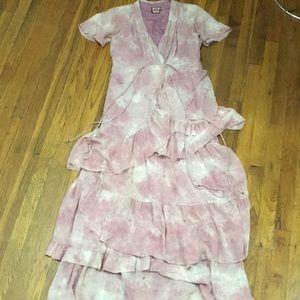 Silk Juicy C maxi boho dress